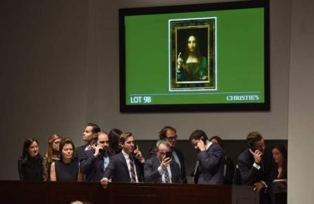 레오나르도 다빈치 구세주 5000억원…가장 비싼 그림 톱5는-copy(o)1