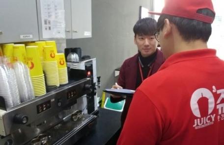 주스ㆍ디저트전문점 '겨울나기 대작전'