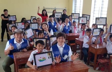 삼성물산, 베트남 학생과 함께 꿈 설계