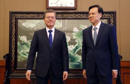 """文대통령 """"충칭은 중국의 미래 이끌 도시"""""""