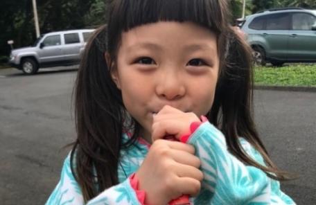 """추사랑, 엄마 야노시호 닮아가 """"추릅추릅"""""""