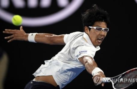 정현, 한국 선수 최초로 메이저 8강 진출
