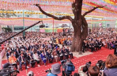 올해 부처님오신날 표어 '지혜와 자비로 세상을 아름답게'