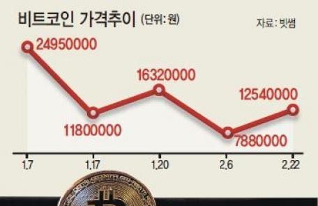 '오락가락' 정부발표 '출렁출렁' 비트코인