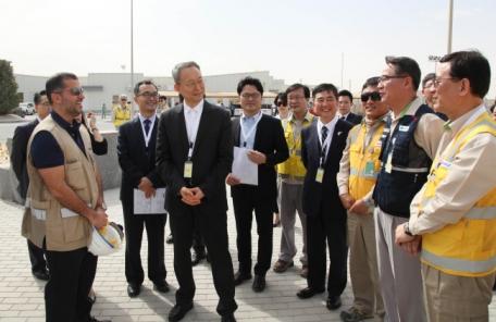 백운규 산업장관, UAE 바라카 원전 방문…에너지 협력 모색