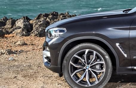 금호타이어, BMW 뉴 X3 모델에 타이어 공급
