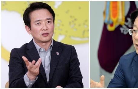 남경필 vs 이재명 '공항버스 전쟁'..출구는 없다