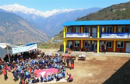 (동정) 현대오일뱅크 1%나눔재단, 네팔 오지마을 중학교 신축 -copy(o)1