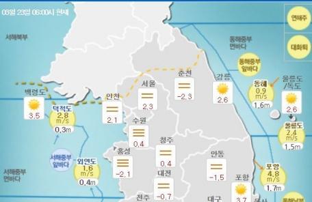 [날씨&라이프] 전국 맑은 금요일…주말까지 '맑음'