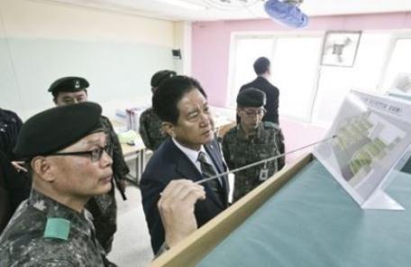 육군훈련소 생활관 침상, 2층으로 리모델링
