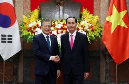 韓·베트남 '미래지향 공동선언' 발표