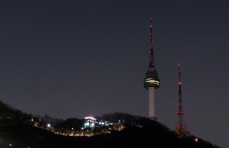 24일 어스아워! 우리 국회도 에펠탑, 부르즈칼리파와 동지