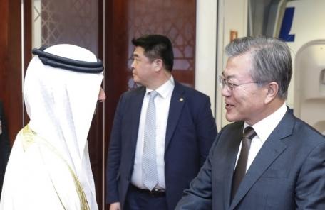 """문재인 """"UAE와 미래 상생 기적 만들겠다"""""""