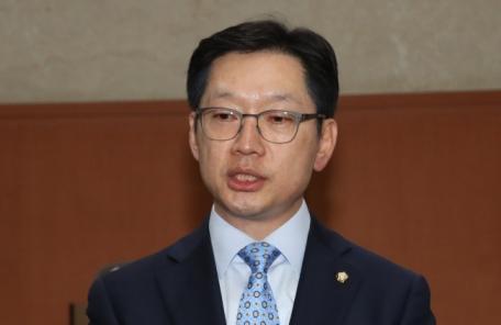 """경찰 """"드루킹, '보좌관과 돈거래' 언급하며 김경수 협박"""""""