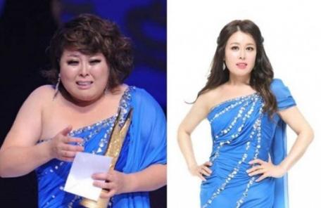 """(직접 배포)홍지민, 29kg 폭풍감량 """"같은 옷 다른 사람"""""""