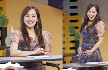둘째 임신 유진 'D라인' 공개