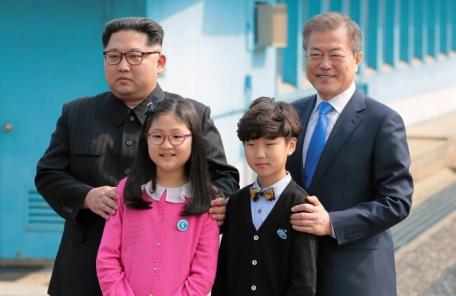 남북정상회담, 대성동마을 어린이 나온 이유?