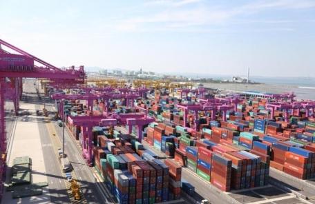 인천항, 작년 컨테이너 교역량 1만TEU 이상 교역국 15개로 확대