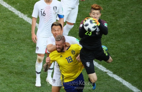 '팔공산 데헤아' 덕에 버텼다…한국 0-0 스웨덴