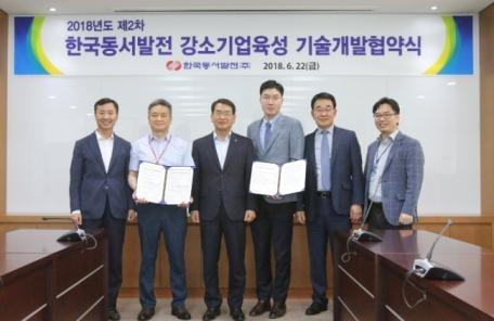 동서발전, 글로벌 강소기업 육성으로 일자리 창출 앞장