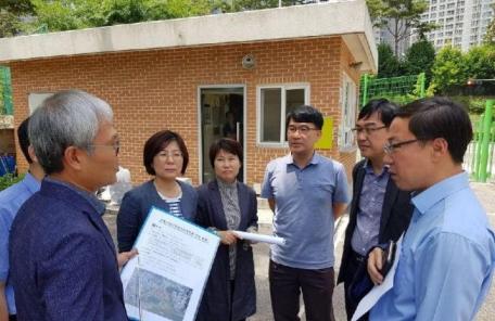 박승원 광명시장 당선인, 민생현장 방문