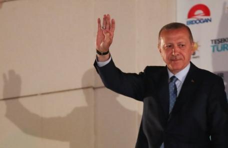 에르도안 터키 대통령, 대선·총선 승리…'21세기 술탄' 등극