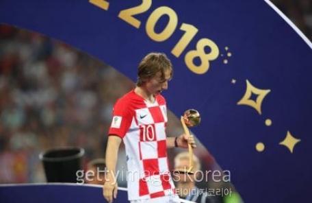 월드컵 '골든볼'은 모드리치…'신인상'엔 음바페