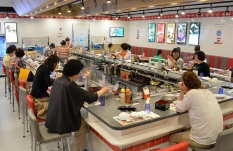 부산지역 백화점 혼밥족 증가, '1인 식당' 인기
