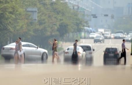 서울 35.5도 올 최고기온 타이…경산 37.3도 최고