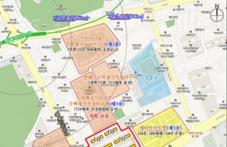 단독주택→아파트… 방배동 재건축 무게중심 이동