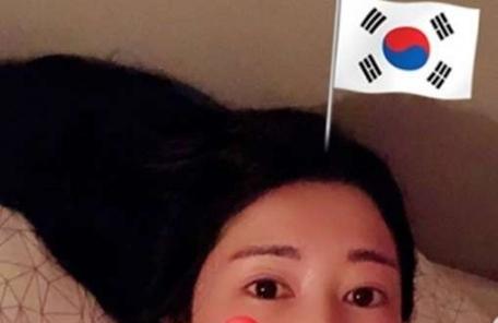 사유리, '광복절 태극기' 인증샷 하루만에 삭제…왜?