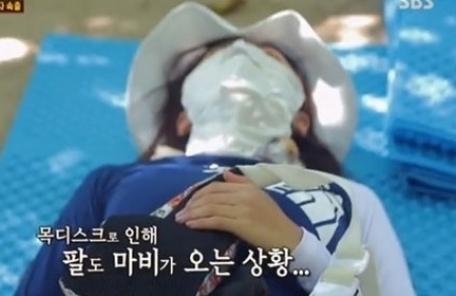 김남주, 급성 목 디스크…'정글의 법칙' 중도 하차