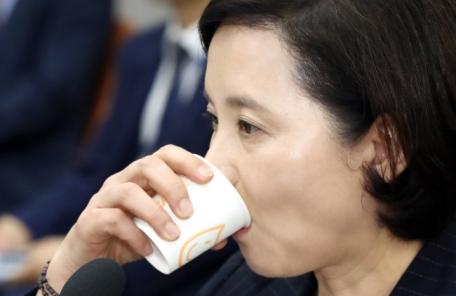 """재산 축소 신고 유은혜 후보자의 해명…""""남편 장씨 '2000만원 적으라'해서 그대로 적었다"""""""