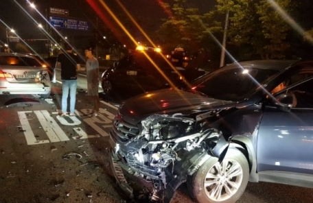 박미선 음주 차량과 추돌사고…검사 결과 큰 부상 없어 일단 퇴원