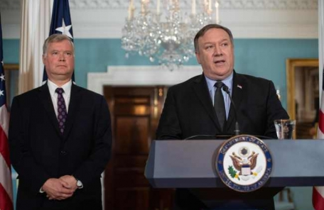 대북제재 강조하는 유엔장관급회의 속 폼페이오-리용호, 핵담판