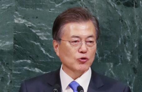 문대통령, 유엔총회 참석차 뉴욕 향발…북한 비핵화 가교역 수행이 초미 관심