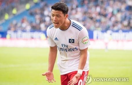 '황희찬 풀타임' 함부르크, 리그 18위 팀에 0-5 대패