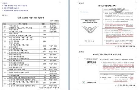 """""""인천공항의 면세점 '삥뜯기'""""…행사비 80% 부담해라"""