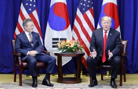 """한미FTA 개정… 트럼프 """"통상분야의 이정표"""""""