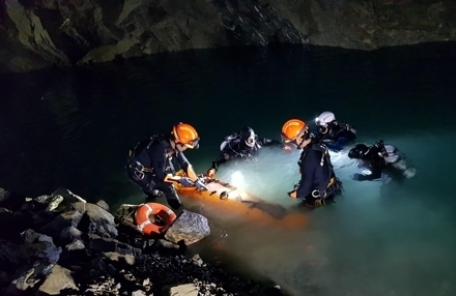 '제2의 태국 동굴 유소년 막는다'…소방청, 동굴구조 특별훈련