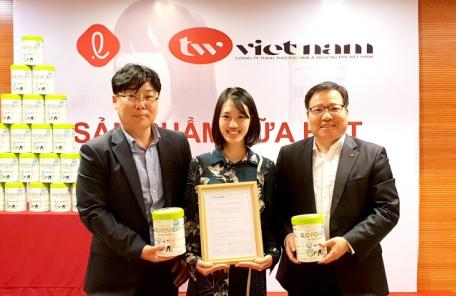 롯데푸드 어린이용 분유, 한국과 베트남에 동시 판매