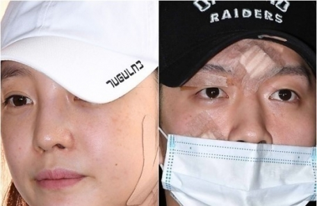 """구하라 前 남친 """"죄송합니다""""…경찰서 빠져나가"""