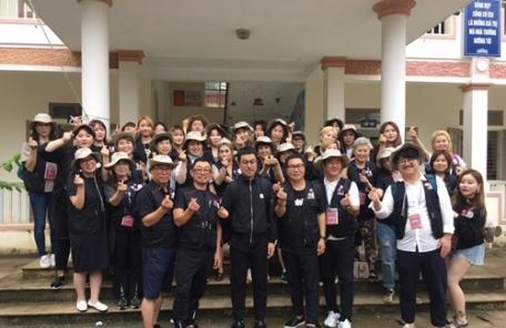 커커엔젤, 베트남 현지 봉사활동 위해 출국