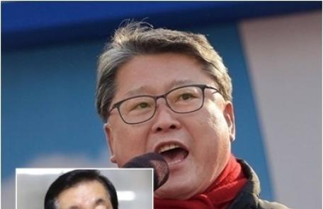 """조원진 """"김성태 원래 그런 인간""""…국감장서 공개 저격, 왜?"""