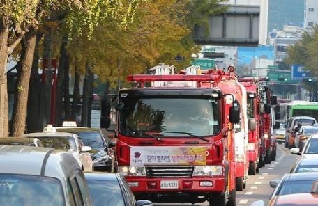 소방차 양보위반 적발…서울이 전국 1위