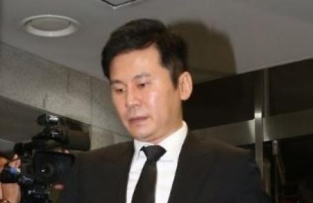 """양현석 """"염문설 지라시 유포 법적대응…선처는 없다"""""""