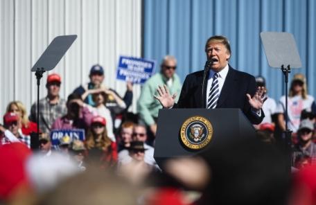 """트럼프 """"북한문제 잘 될 것이다. 잘 될 것이다…서두르지 말라"""""""