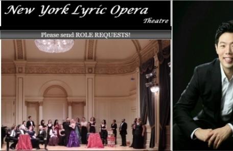 오페라 싱어 김동엽 뉴욕 카네기 홀에서 열리는 '돈지오반니' 주역으로 선정