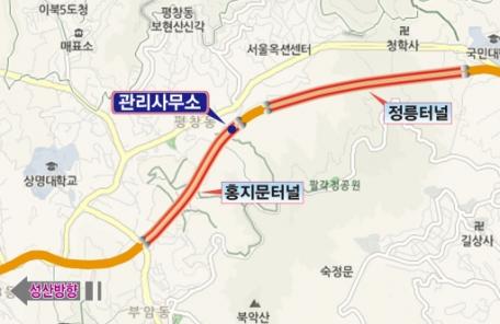 서울시, '1890m 긴 홍지문터널' 화재발생 가정한 실제훈련