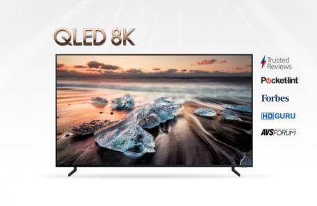 전세계 주요 평가 매체 잇따라 호평한 'QLED 8K'